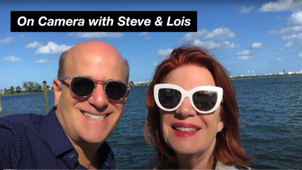 Lying on the Beach On Camera with Steve Greenberg and Lois Whitman-Hess